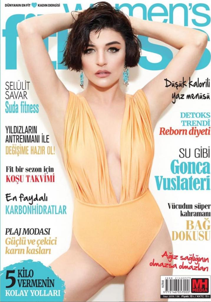Women's Fitness Cover June 19 Gonca Vuslateri